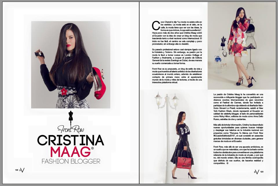 Critina Maag Fashion Blogger