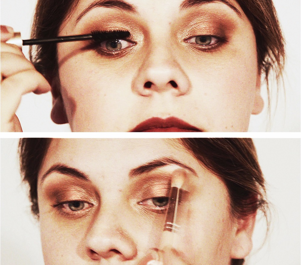 Front Row Beauty Tutorial Emma Stone (2)