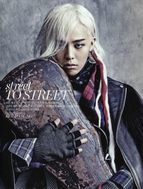"""Street to Street"": Homeless Chic with Kim Sung-Hee and G-Dragon by Kim Bo-Sung for Vogue Korea August 2013"