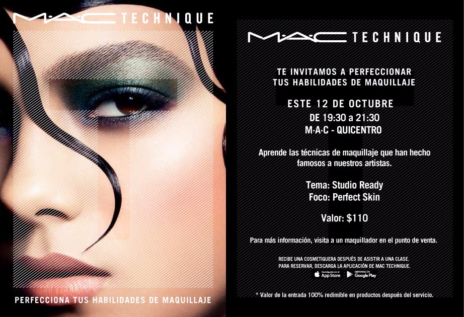 MAC Front row blog